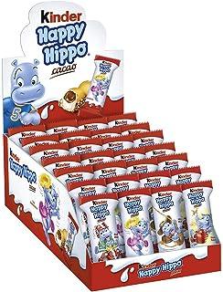 Kinder Happy Hippo Barritas de Chocolate - Pack de 5 x 20.7 g ...
