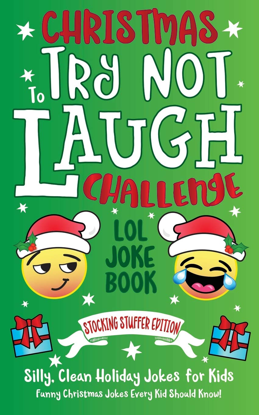 Christmas Jokes Clean.Christmas Try Not To Laugh Challenge Lol Joke Book Stocking