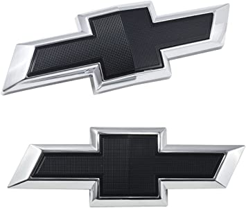 2016-2018 Camaro Genuine GM BLACK Illuminated Bow Tie 23393028