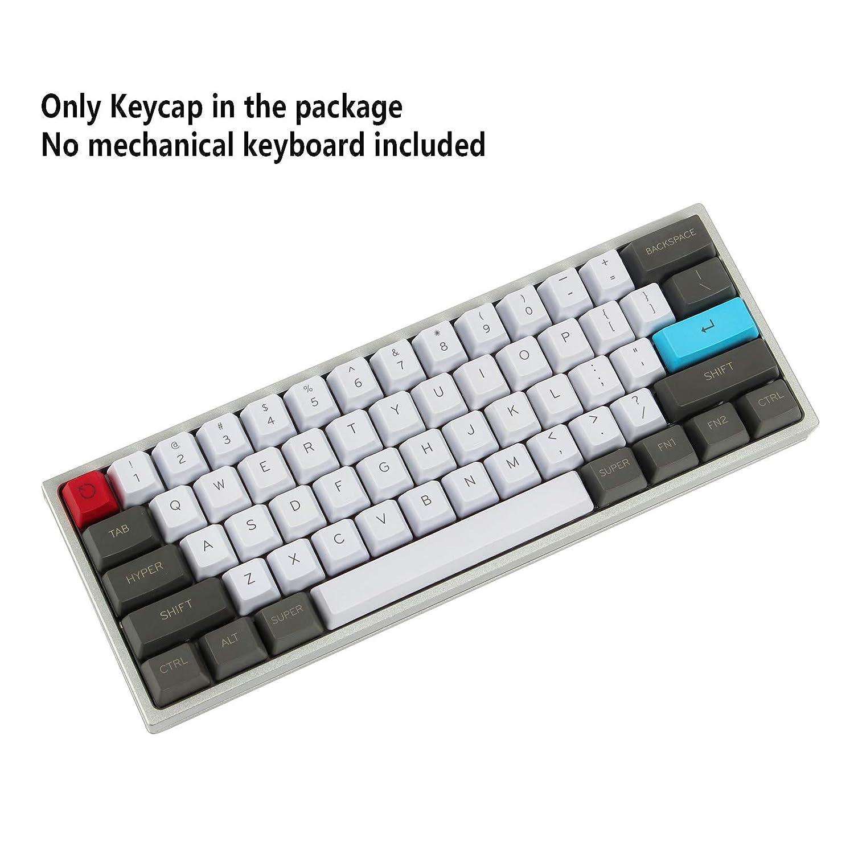 Npkc top su misura 61/ANSI Keyset OEM profilo spesso PBT Keycap set per Cherry MX interruttori tastiera meccanica da gioco