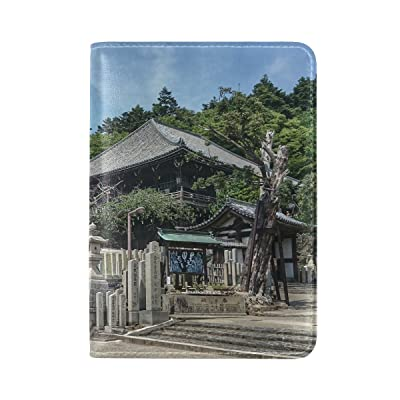 Countriy Japan Nara Different Leather Passport Holder Cover Case Travel One Pocket