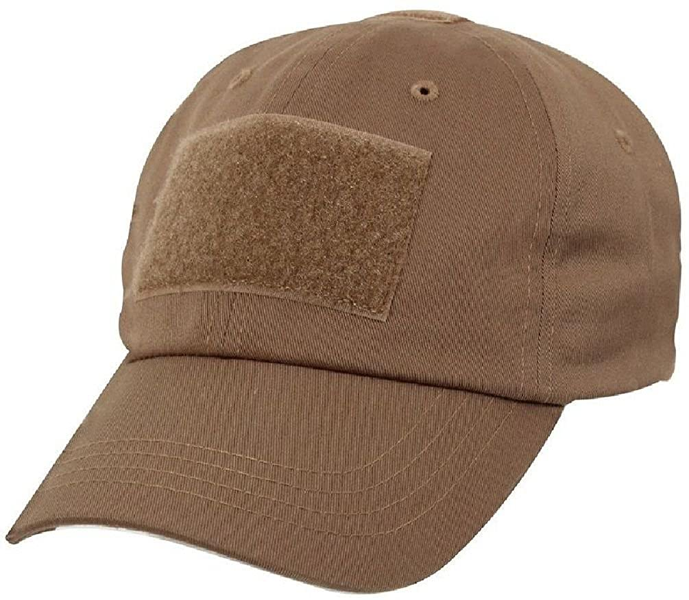 Amazon.com  Coyote Brown Military Low Profile Adjustable Tactical Hat  Operator Cap  Clothing e2f60dc1a63