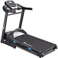 PowerMax Fitness Unisex Adult TDM-115S (4.0 Hp Peak), Semi Auto Lubrication, Motorized Treadmill For Home Fitness With…