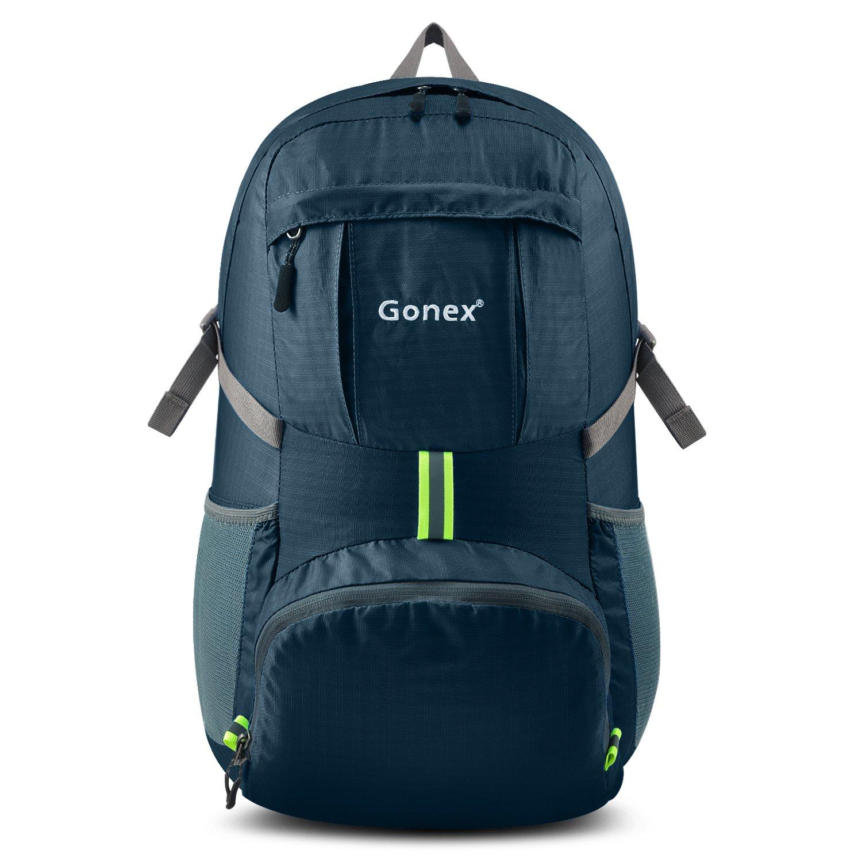 Gonex Sac à Dos Pliable 35L Sac Sport Sac Imperméable Homme Femme - Pour camping, randonnée, voyage, fitness