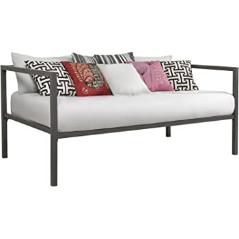 Amazon Com Dhp Modern Tribeca Daybed Metal Frame Twin