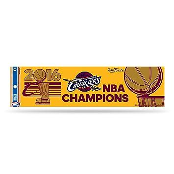 Nba cleveland cavaliers 2016 champions bumper sticker