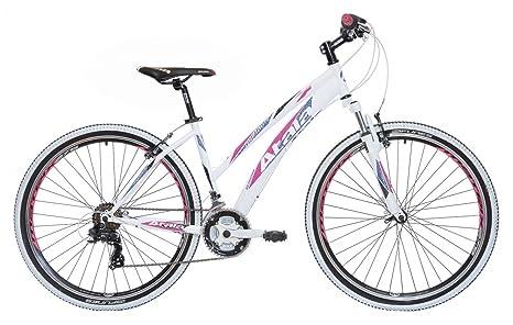 Mountain Bike Da Donna 275 Atala My Flower 21v Bianconerofuxia