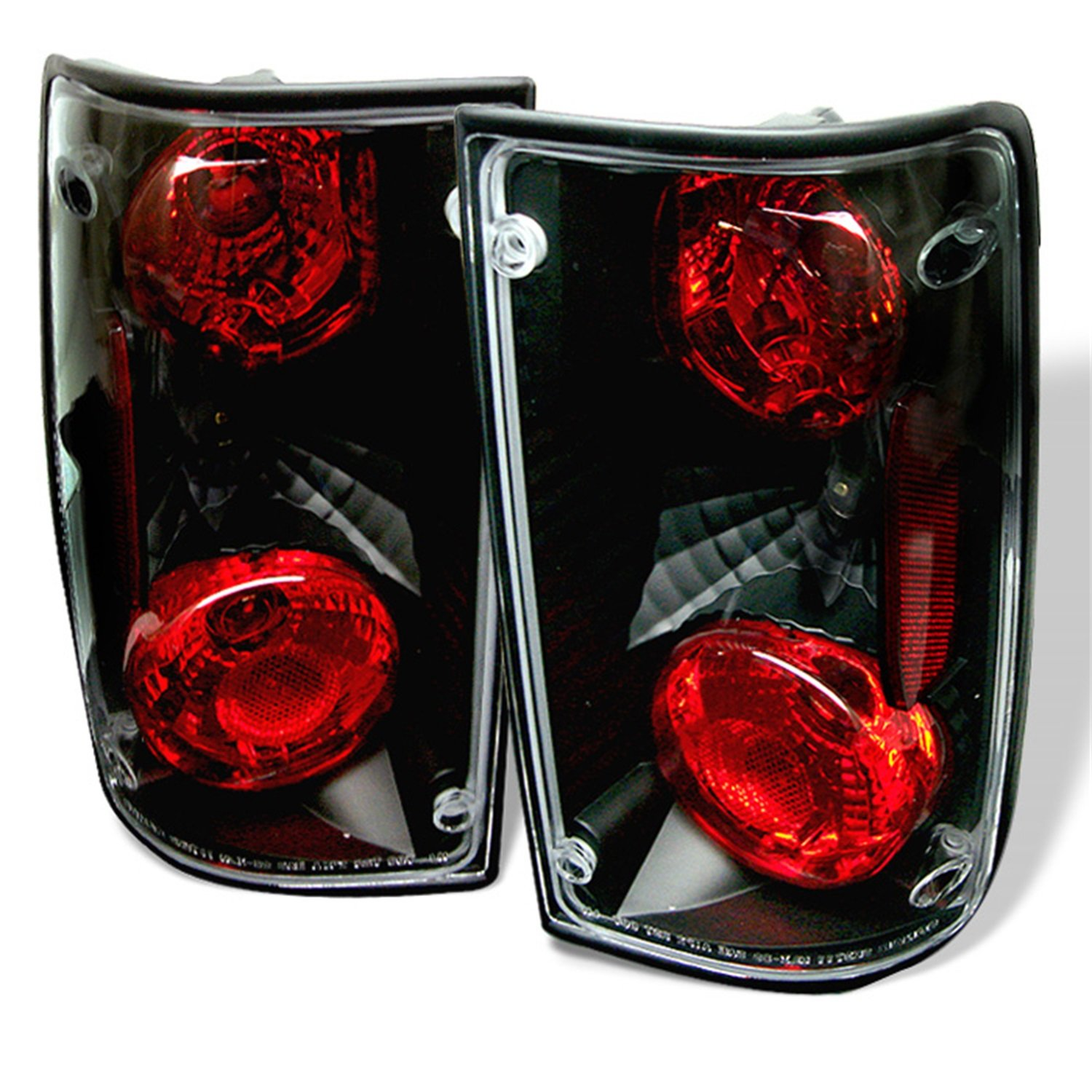 Amazon com spyder auto toyota pick up black altezza tail light automotive