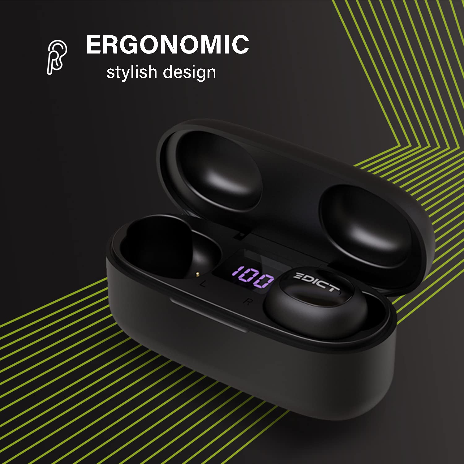 Edict DynaPulse ETWS01 Earbuds Launching Soon in India 2021