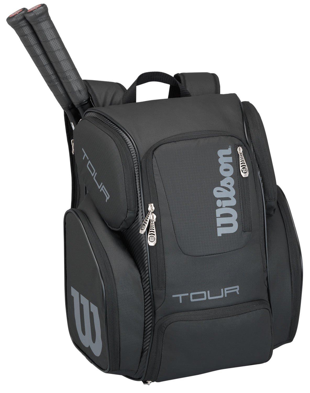 Wilson Tour V Backpack Large BK - Bolsa de pádel, Color Negro ...