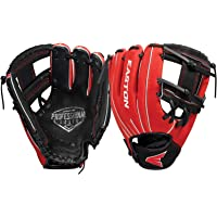 EASTON PROFESSIONAL YOUTH Baseball Glove Series, 10 Youth Size Pattern Designed For The 8U / Tee Ball Player, 5 Colors…