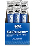 Optimum Nutrition (ON) Essential Amino Energy Drink Travel Pack – Pack of 6 Servings (Blue Raspberry)