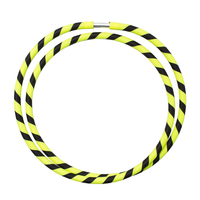 Rosa // Negro Varias Opciones de Color Echo Hoops Plegable Travel Hula Hoop