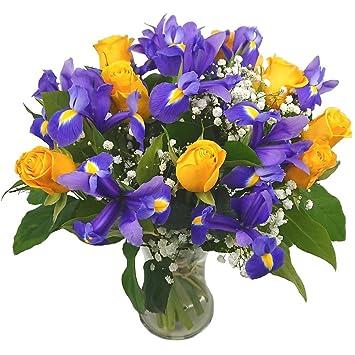 Clare Florist Blue Skies Fresh Flower Bouquet