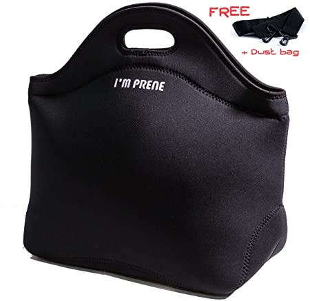 64502ca2336 I M PRENE X-Large X-Thick Insulated Lunch Bag with Strap and Heavy ...