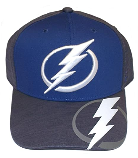 4711748a Image Unavailable. Image not available for. Color: Tampa Bay Lightning  Playoff Structured Flex Reebok Hat ...