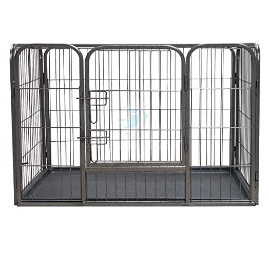 Medium Heavy Duty Pet Playpen With Plastic Floor For Dogs U0026 Puppies   Pisces