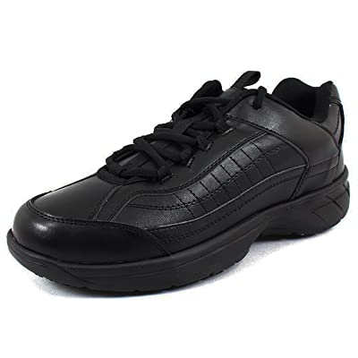 Laforst Eamon 4201 Mens Work Slip Resistant Sneakers Black 9: Shoes