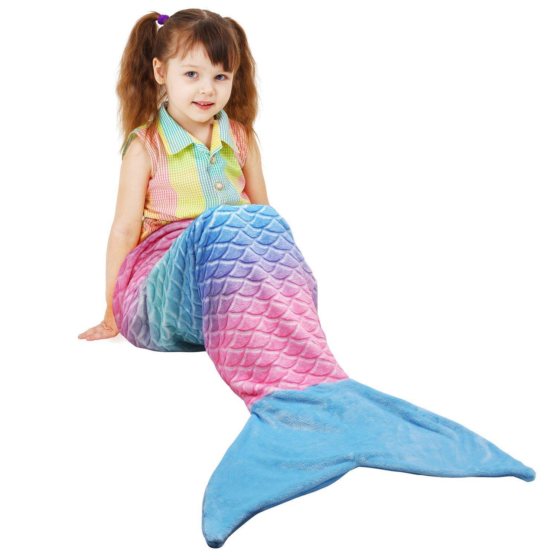Catalonia Penguin Tails Blanket Super Soft Plush Kids Sleeping Blanket Bag for Toddler Children Teens Boys Girls 52