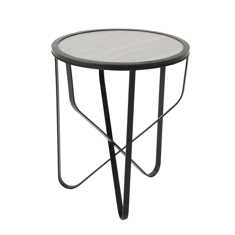 Amazon Com Great Deal Furniture Noah Outdoor 18 Inch Light Grey
