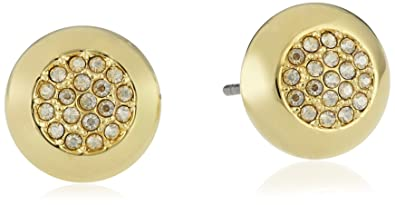 191c1dd2f Image Unavailable. Image not available for. Color: Swarovski Stone Stud  Pierced Earrings 5098345