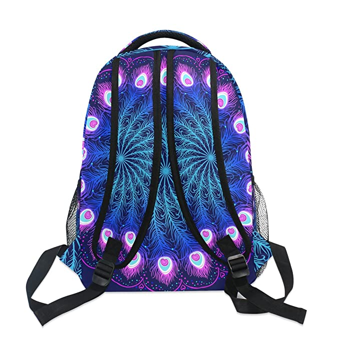 Amazon.com : GIOVANIOR Mandala Backpack School Bag Bookbag Hiking Travel Rucksack : Sports & Outdoors