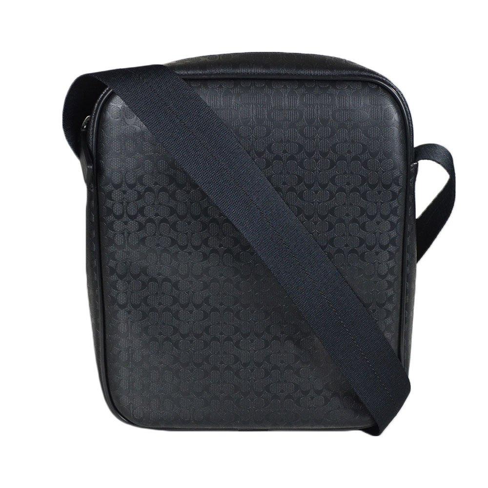 c018f6713da9 Coach Men s Signature HPC Camera Flight Messenger Bag 71257 Black   Amazon.ca  Shoes   Handbags