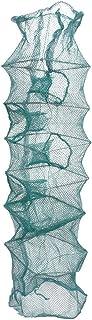 80cm Pliable Metal Frame Nylon Mesh Pêche Landing bourriche Vert
