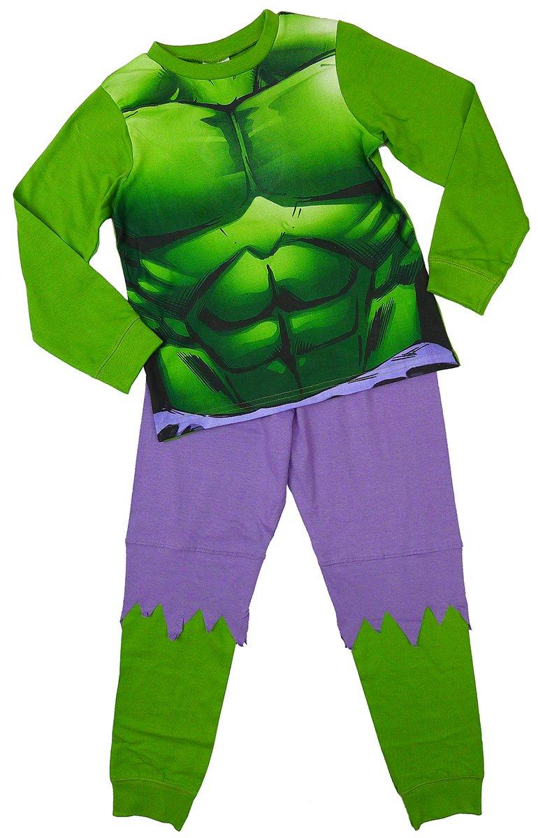 Marvel Big Boys' Official Inc Ible Hulk Costume Novelty Pyjamas