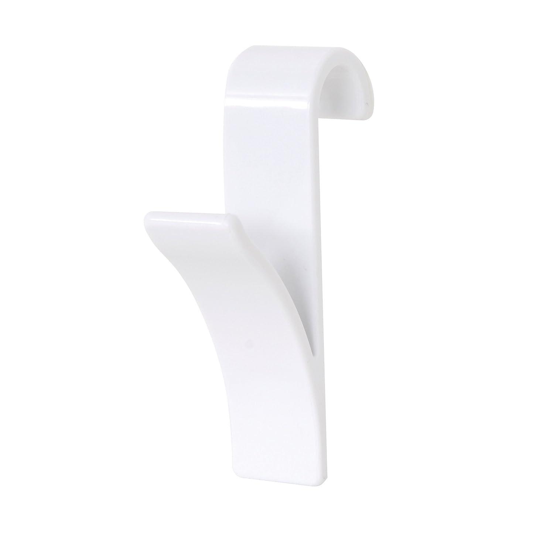 MSV Hook for Towel Dryer, Black, 2-Piece 141412