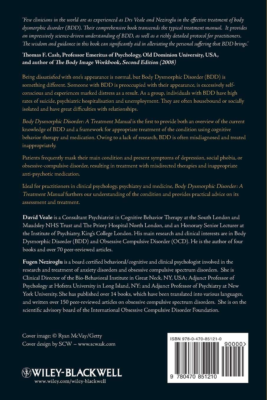Body Dysmorphic Disorder: A Treatment Manual