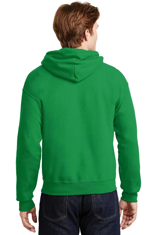 Irish Green M - Gildan Adult Heavy Blend 8 Oz Style # G185 - Original Label 50//50 Hood