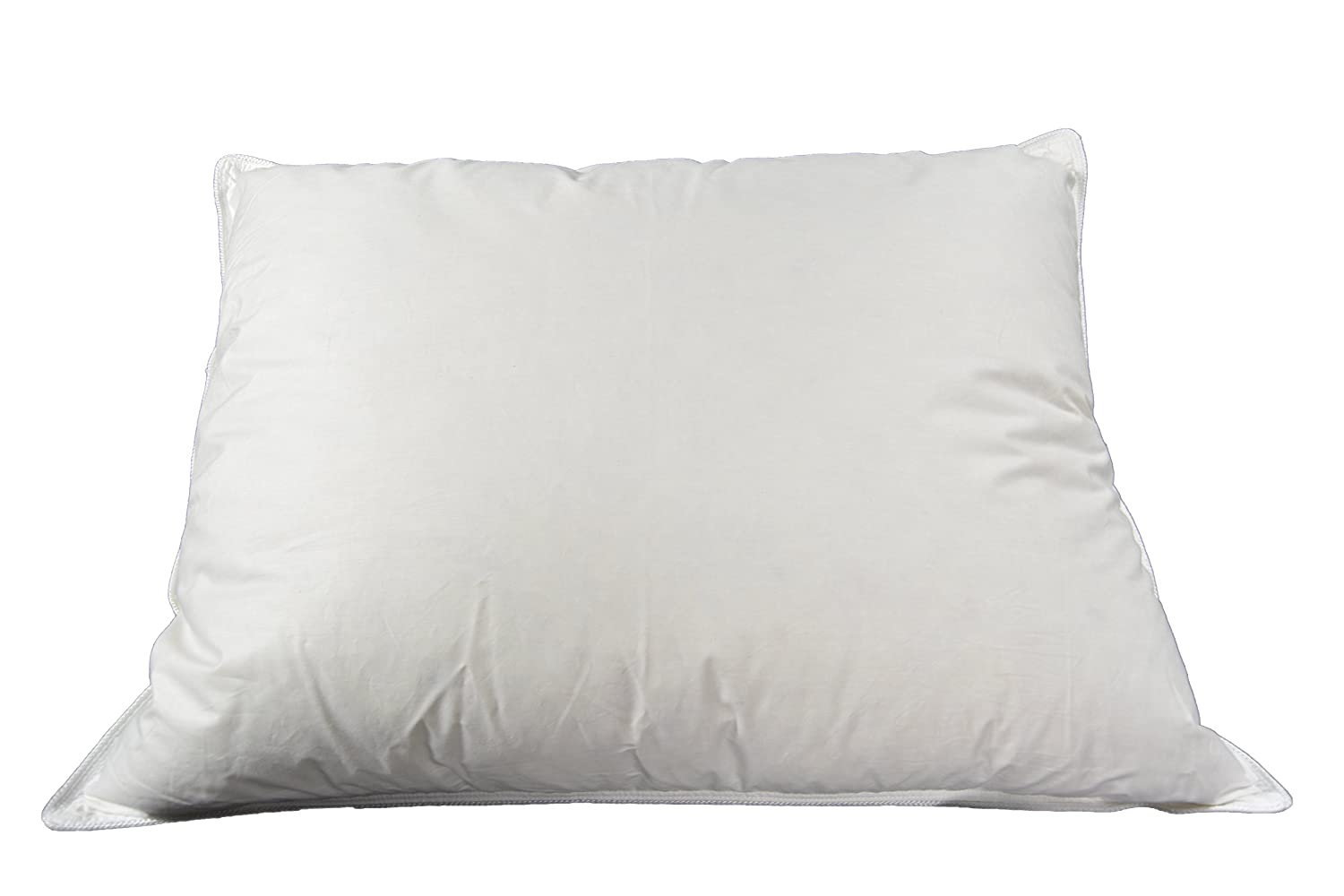 Finefeather Down and Feather Blend Sleeping Pillow - 50% White Goose Down & 50% Feather, and 100% Cotton Fabric, King Size.