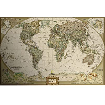 Masterberry Jigsaw Puzzle Games, World Map 1000 Piece Puzzle Game for Adult: Toys & Games