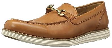 3648c1574b Cole Haan Men's Original Grand Venetian BIT II Loafer, Pecan/Ivory, 7 Medium
