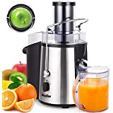"Mueller Austria Juicer Ultra 1100W Power, Easy Clean Extractor Press Centrifugal Juicing Machine, Wide 3"" Feed Chute for…"