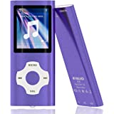 MYMAHDI - Digital, Compact and Portable MP3 / MP4 Player (Max Support 64 GB Micro SD Card) with Photo Viewer, E-Book…