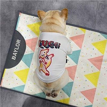 L Pet supplies Bulldog francés Camiseta de Primavera y otoño ...