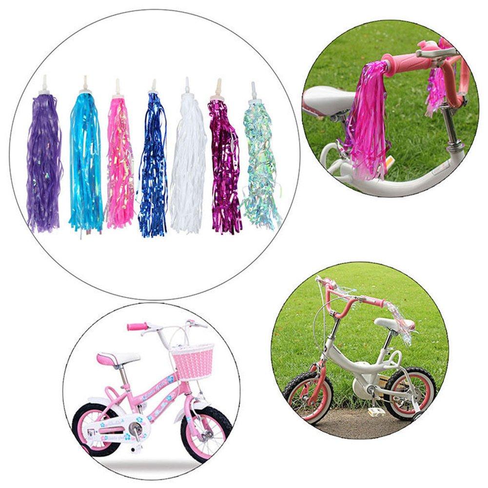 Bicicleta de ciclismo para ni/ños con borlas decorativas Tama/ño libre #1