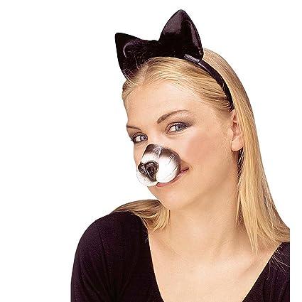 NET TOYS Nariz de Gato hocico Animal felino Accesorios Traje ...