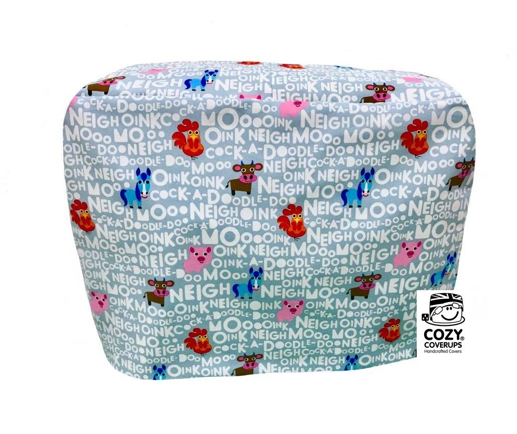 Cozycoverup®, rivestimento anti-polvere per impastatrice planetaria Kenwood, motivo fattoria Chef Sense XL Multi Cozycoverup® Coolcozycovers LTD