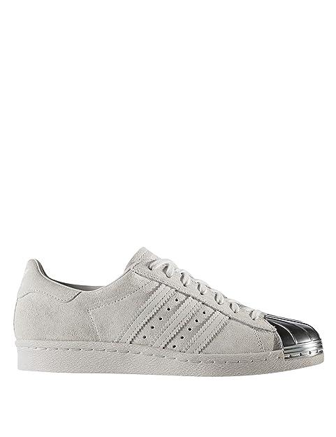 adidas Superstar 80S Metal Toe W CP9945, Zapatillas de Deporte para Mujer, Gris Griuno, 40 1/3 EU: Amazon.es: Zapatos y complementos