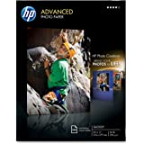HP Advanced Photo Paper, Glossy (100 Sheets, 8.5 x 11 Inch)