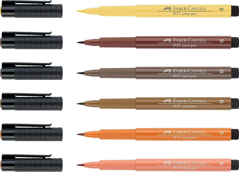 Pitt Artiste gros pinceau stylo blanc Faber-Castell Single