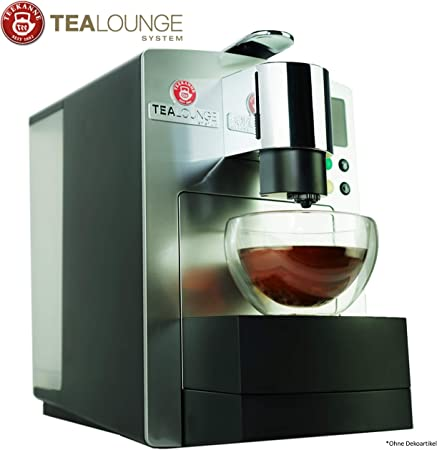 Teekanne Tealounge Pro Edition - Cafetera de cápsulas para té y café, con 2 vasos de doble pared compatibles con cápsulas K-Fee: Amazon.es: Hogar