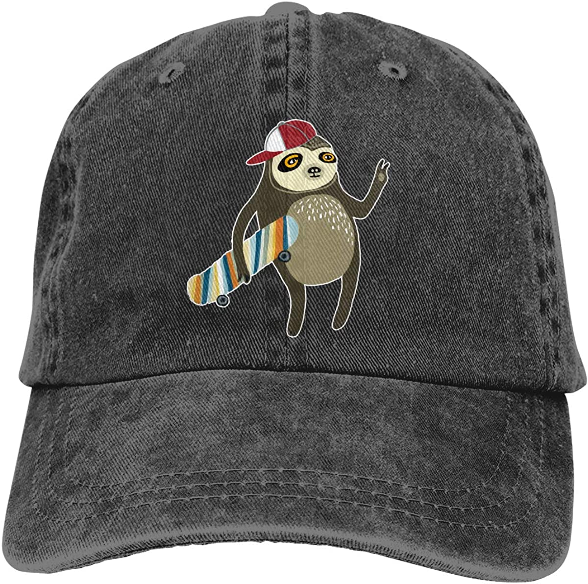 Unisex Cartoon Cockatiel Vintage Washed Dad Hat Fashion Adjustable Baseball Cap