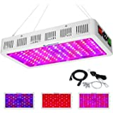 Exlenvce 1500W 1200W LED Grow Light Full Spectrum for Indoor Plants Veg and Flower,led Plant Growing Light Fixtures with…