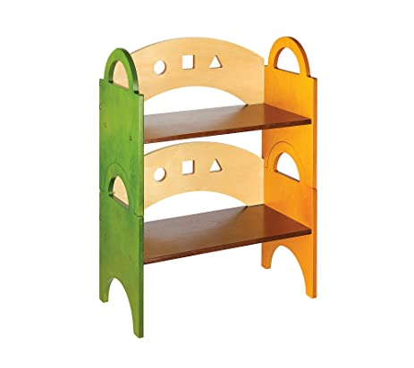 Amazon Guidecraft Stacking Bookshelf Home Kitchen
