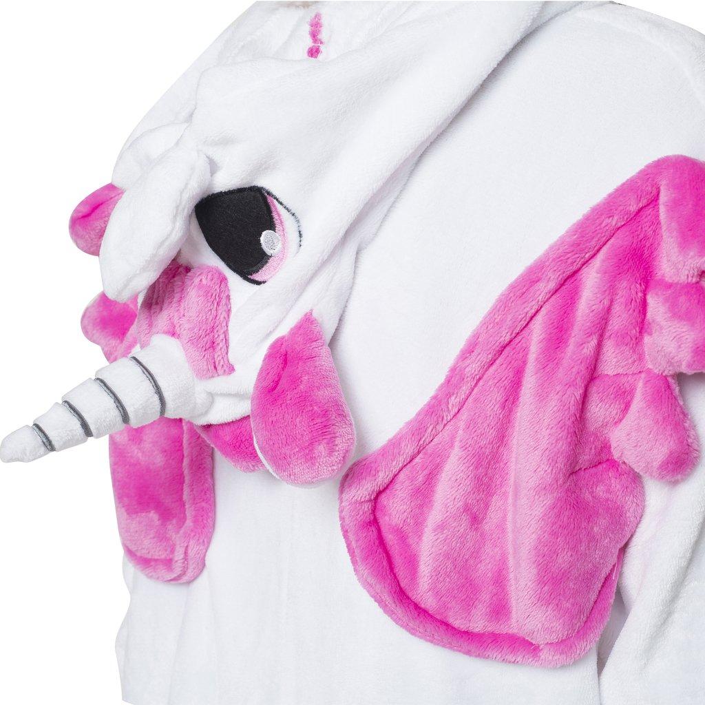 Karnevals-Kost/üm Fantasie in Lila Hausanzug Schlafanzug Sleepsuit Cosplay Katara 1744 Einhorn Onesie Kost/üm Party Verkleidung zum Fasching Jogginganzug M/ärchen Tierkost/üm