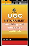 UGC NET/JRF TEACHING AND RESEARCH APTITUDE Book: UGC NET/JRF